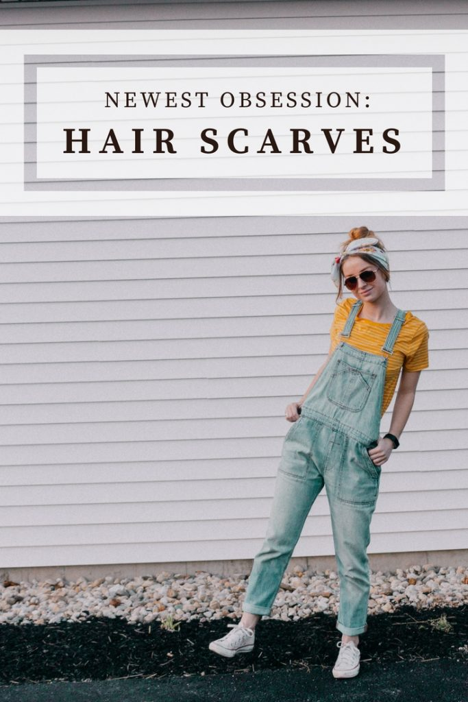 4 Ways to Wear Hair Scarves | Hey its Camille Grey #hairscarves #hair #fashion