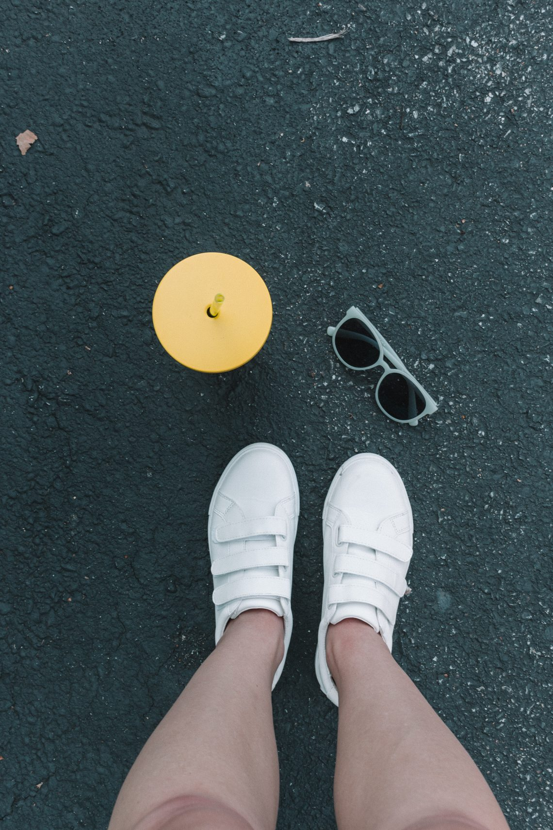 How to Style: Velcro Shoes   Hey Its Camille Grey #fashion #velcroshoes #shoes