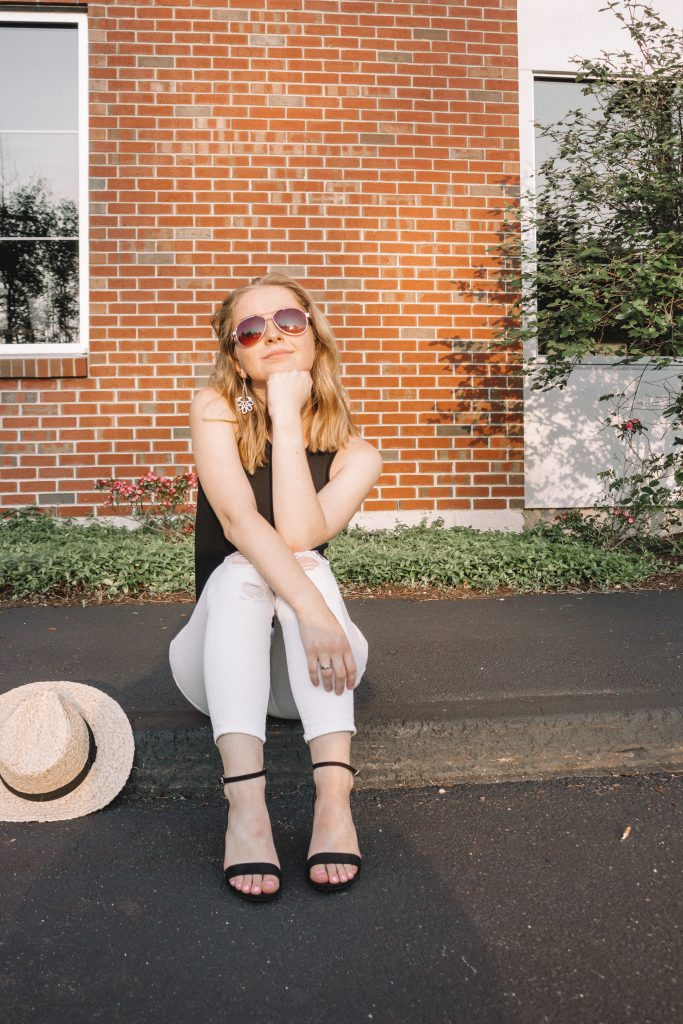 How I Style: Low Block Pumps | Hey It's Camille Grey