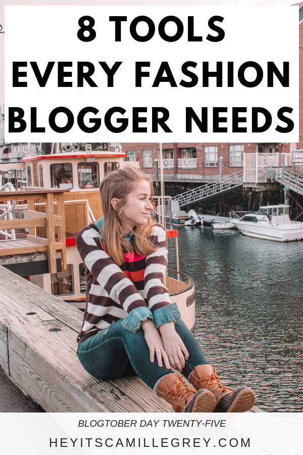 8 Tools Every Fashion Blogger Needs | Hey Its Camille Grey #fashion #blogger #tools