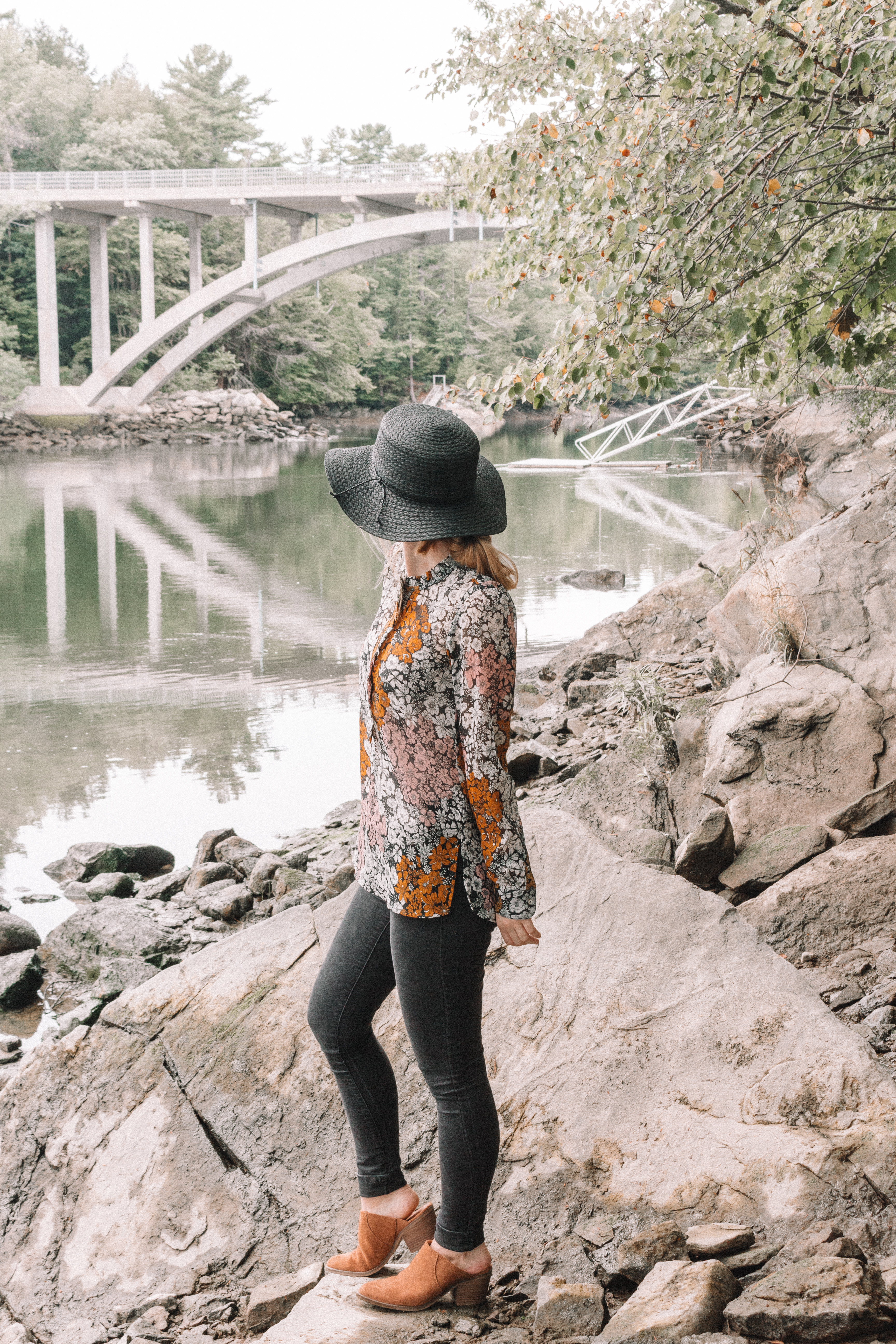 Autumnal Walks in Falmouth, Maine | Hey Its Camille Grey #maine #travel #fashion