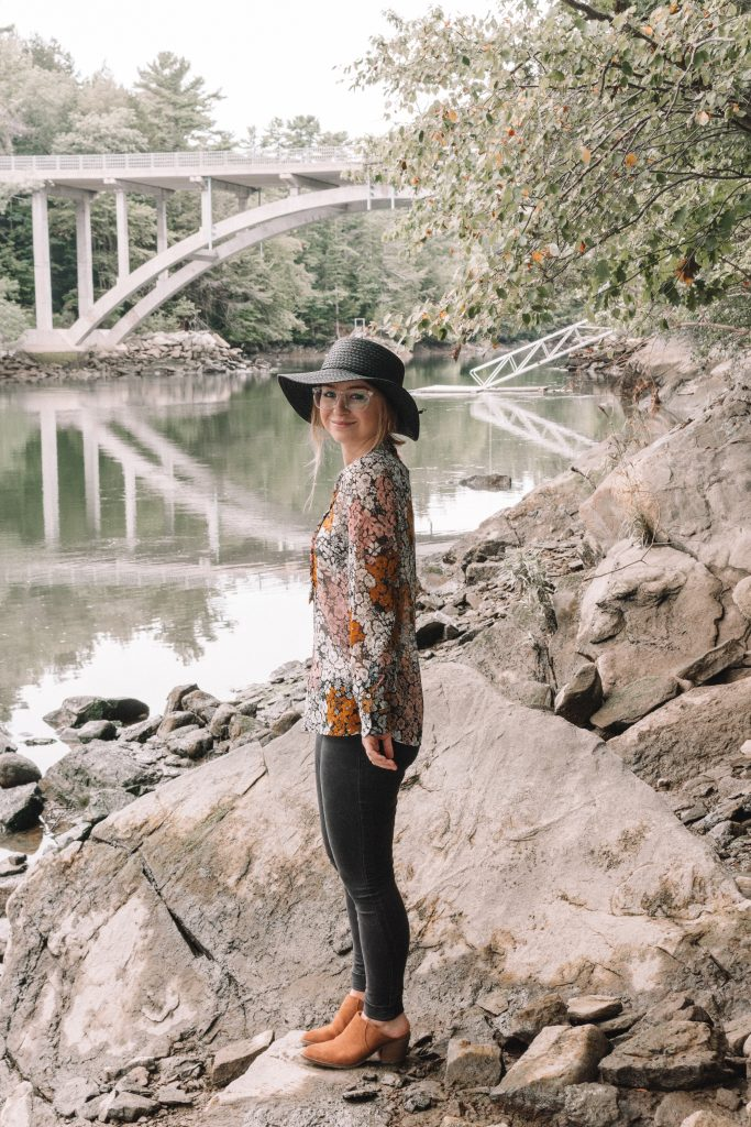 Autumnal Walks in Falmouth, Maine | Hey It's Camille Grey