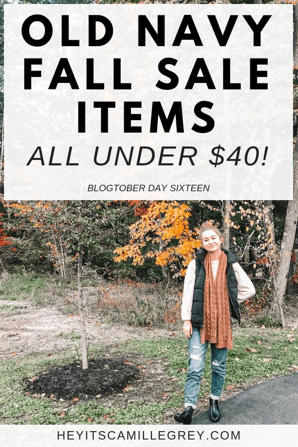 Old Navy Fall Sale Items | Hey Its Camille Grey #fall #sale #fashion