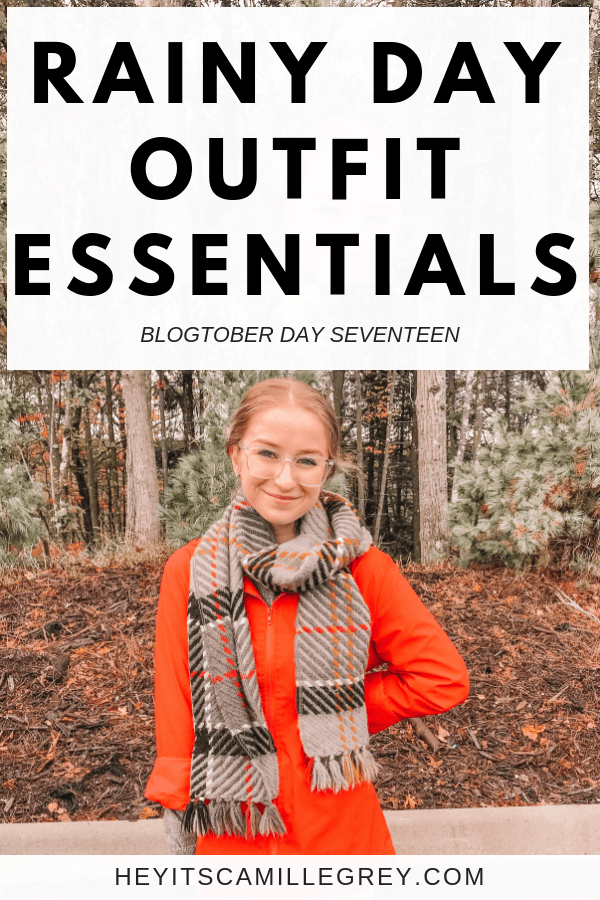 Rainy Day Outfit Essentials | Hey Its Camille Grey #rainy #rain #rainyday