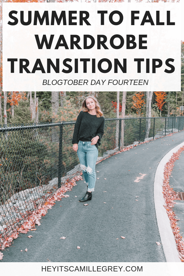 Summer to Fall Wardrobe Transition Tips | Hey Its Camille Grey #fashion #summer #fall #wardrobe