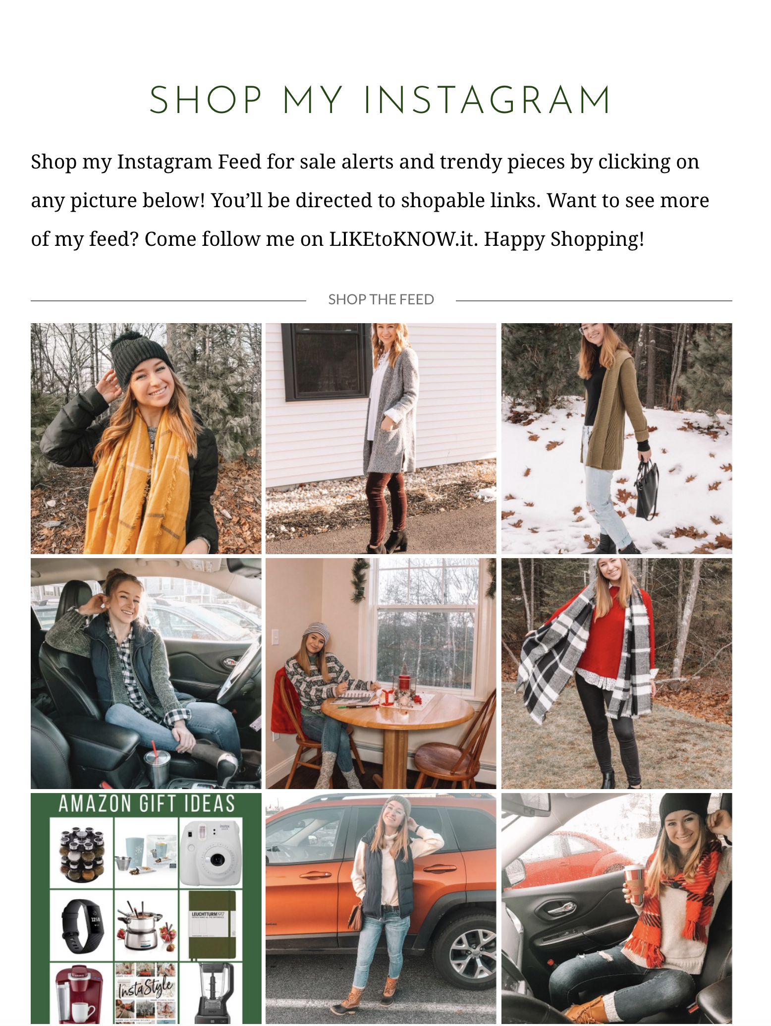 How To Use LIKEtoKNOW.it and Shop My Posts | Hey Its Camille Grey #LTK #shopmyposts #shop #mycloset