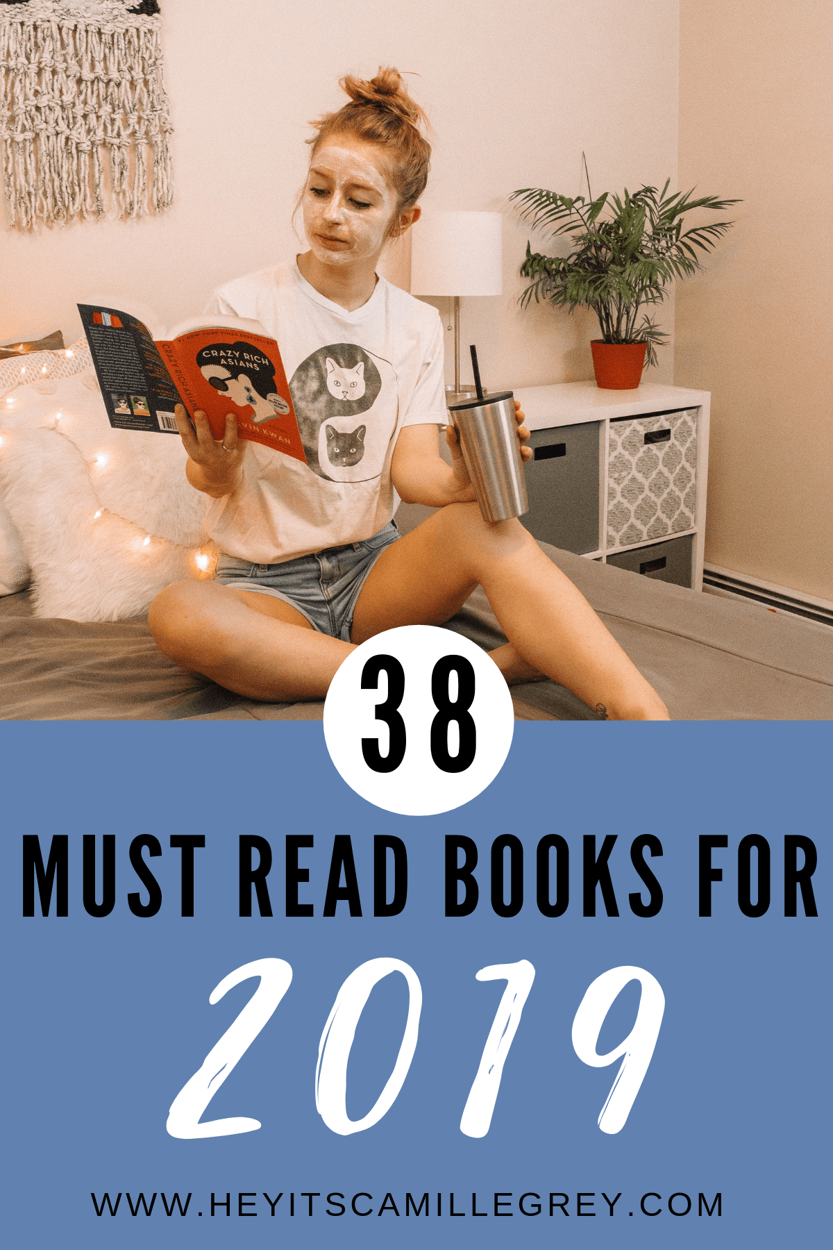 38 Must Read Books for 2019.   Hey Its Camille Grey #2019 #reading #mustread #books