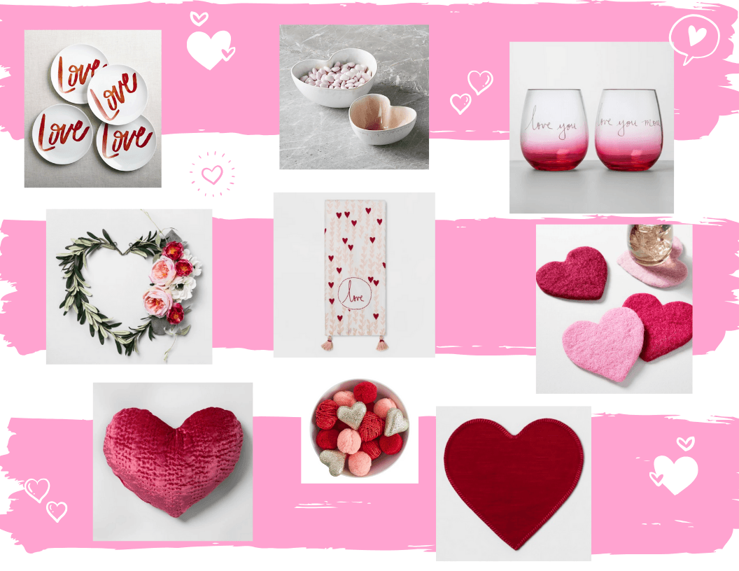 Valentines Day Decor Ideas. Hey Its Camille Grey