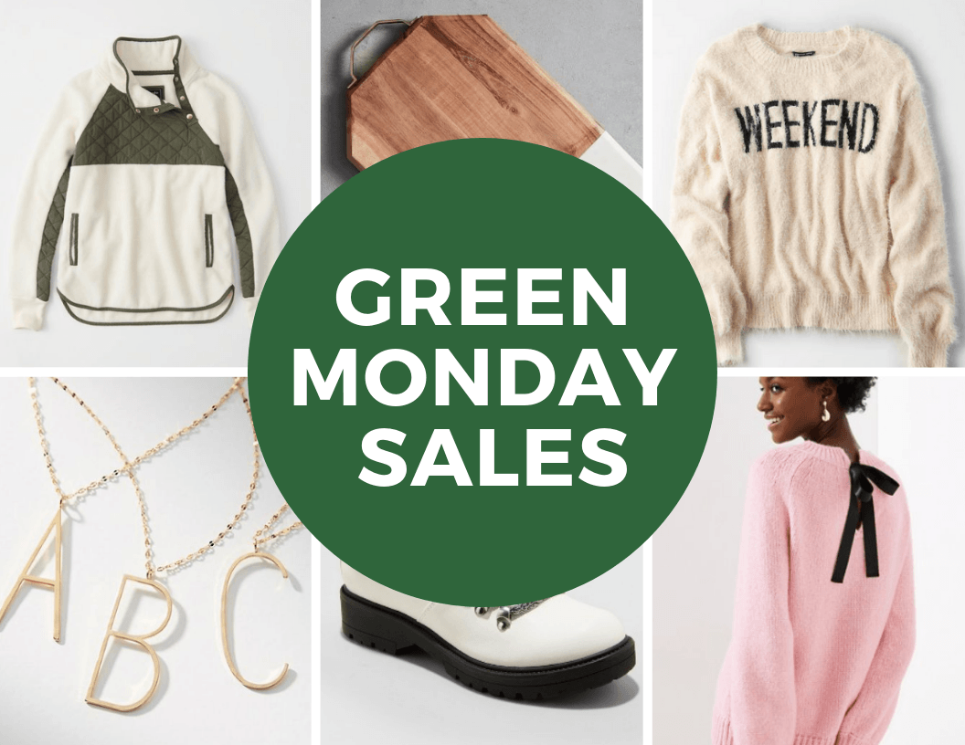 Green Monday Sales | Hey Its Camille Grey