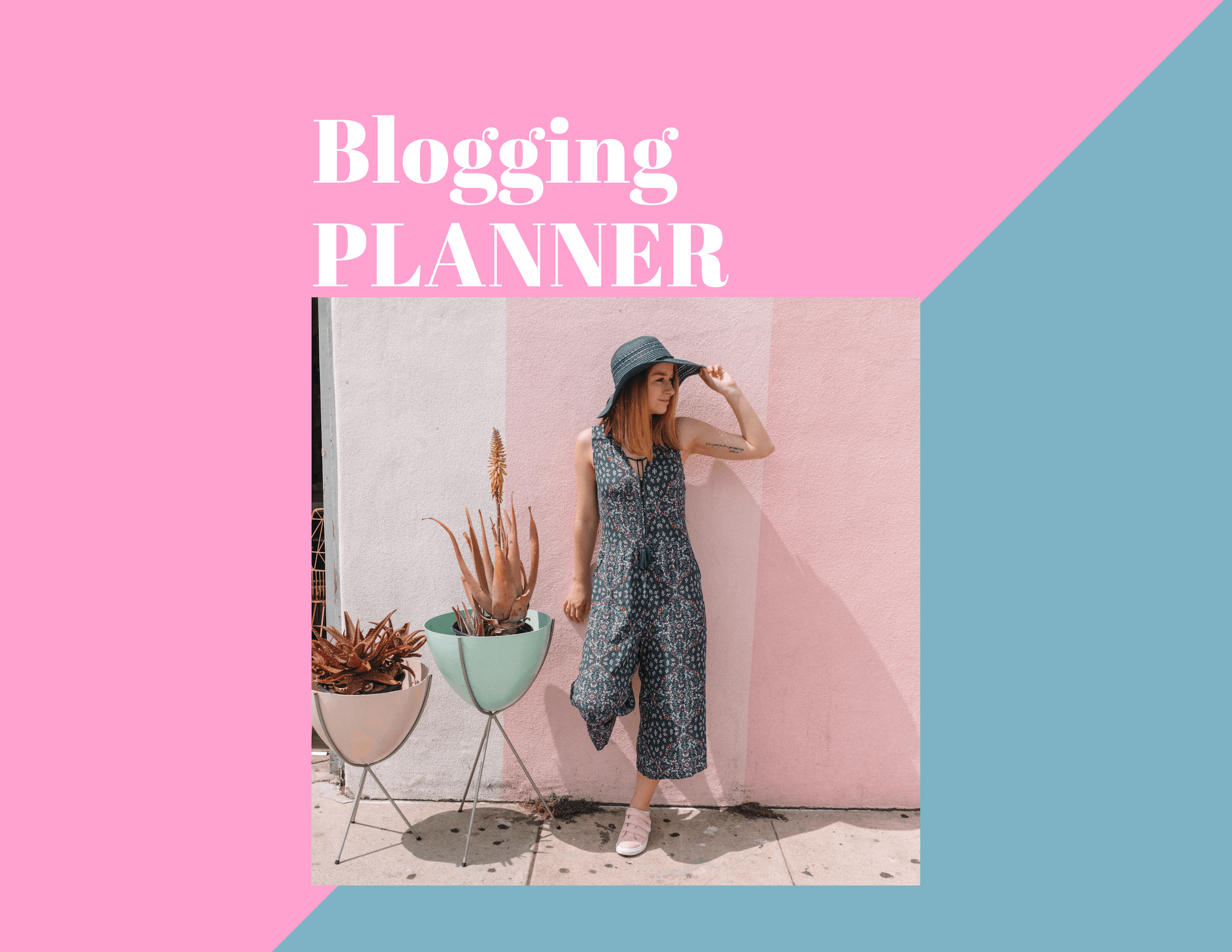 How to Organize Your Blog Content and Free Printable. Learn how to organize every aspect of your blog! | Hey Its Camille Grey #blog #planner #blogging #howto #organize
