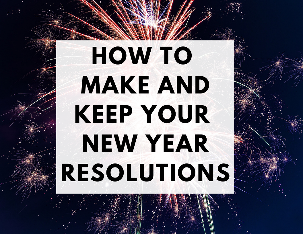 How to Make and Keep Your New Year Resolutions | Hey Its Camille Grey #newyear #resolutions #2019