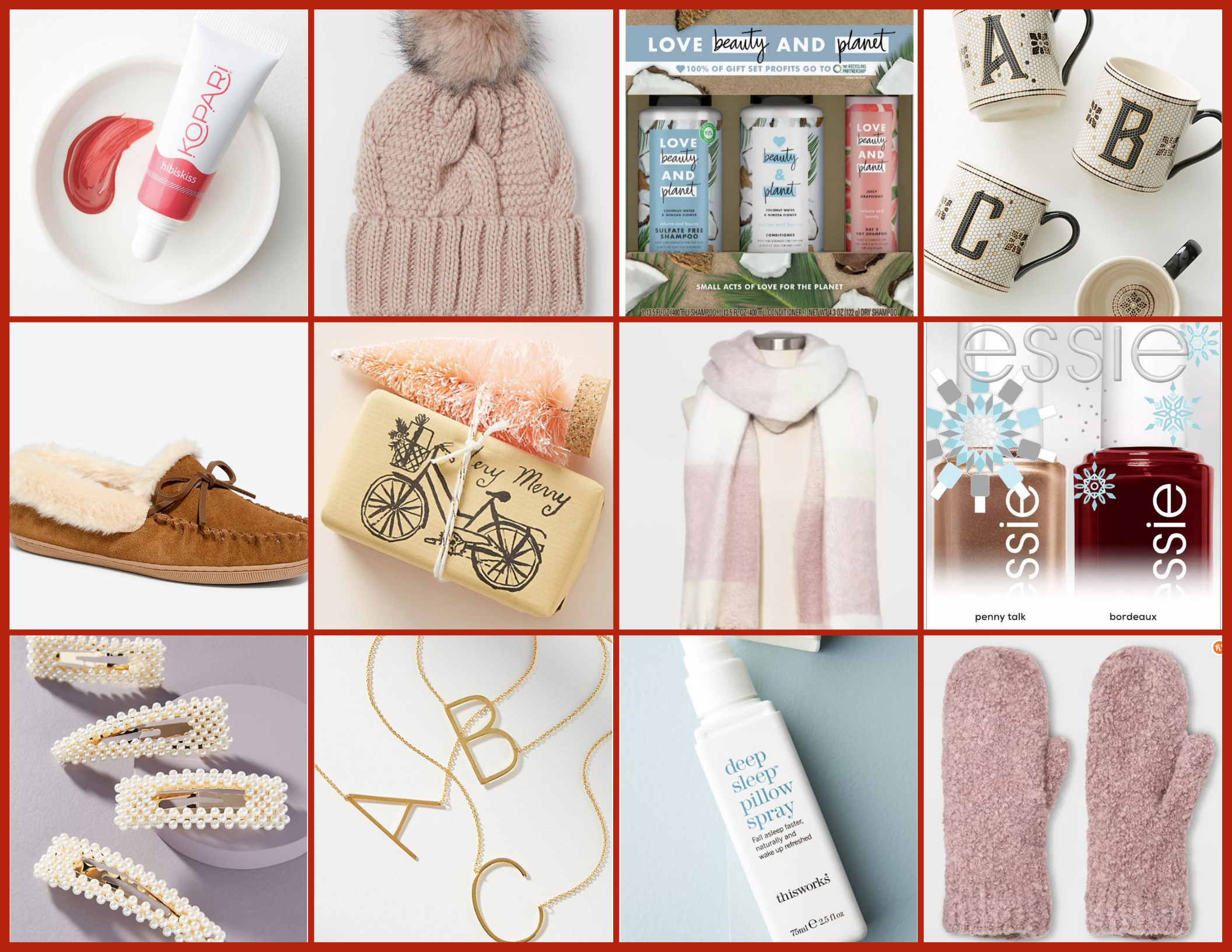 Gift Guide for Her | Hey Its Camille Grey #giftguide #holiday #forher #women #fashion #giftideas #gifts