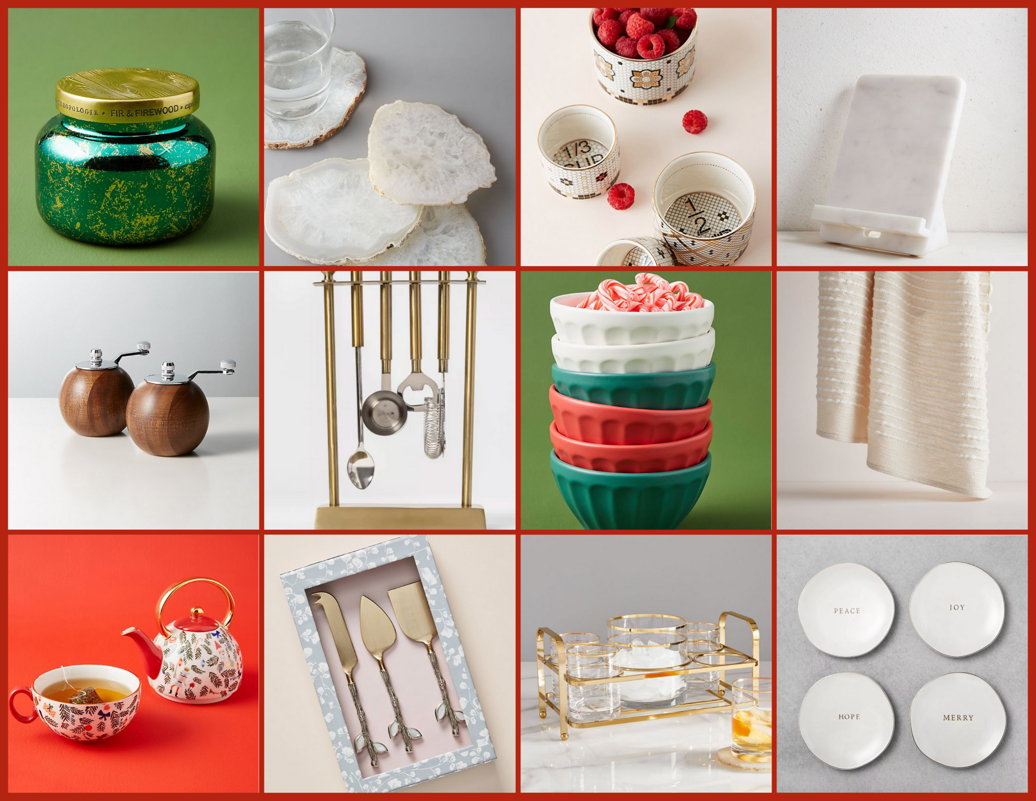 Gift Guide for the Host | Hey Its Camille Grey. I've put together a big list of everything you can give your friends, family members or whoever else loves to host! Come check out my website for even more gift guides! #giftguides #holiday #host #gifting #christmas